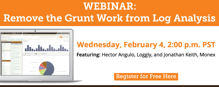 Take the grunt work out of log analysis
