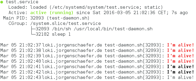 Logging in New Style Daemons with systemd - Image 1