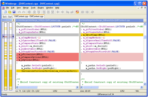 c sharp developer tools WinMerge