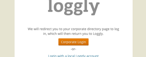 SSO for Logs? Federated Identity with Loggly
