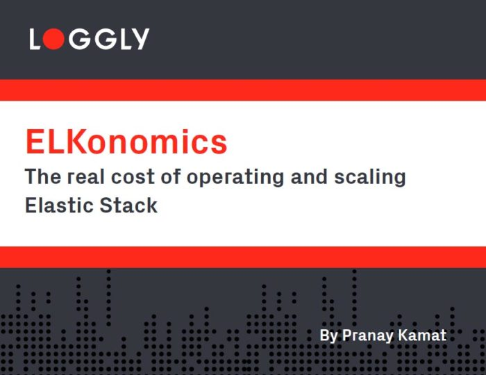 Loggly ELKonomics White Paper Cover Image