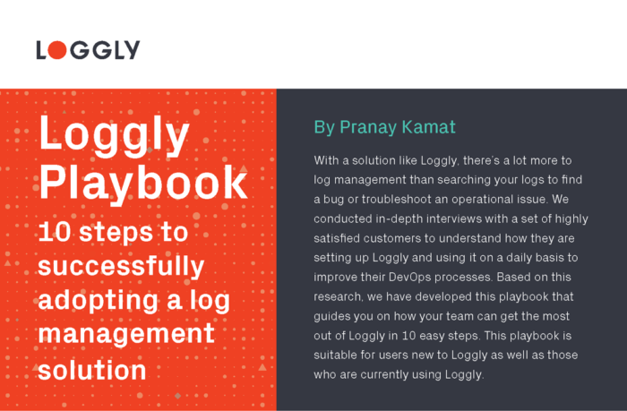 Loggly Playbook 2017