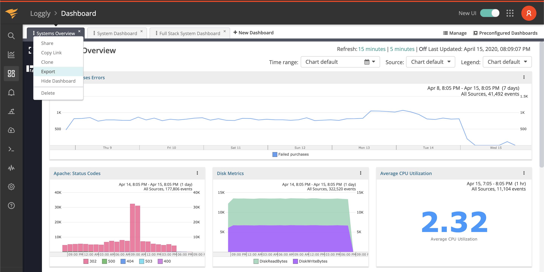 Shareable Reports Screenshot